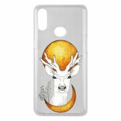Чохол для Samsung A10s Deer and moon
