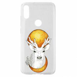 Чехол для Xiaomi Mi Play Deer and moon