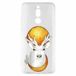 Чехол для Xiaomi Redmi 8 Deer and moon