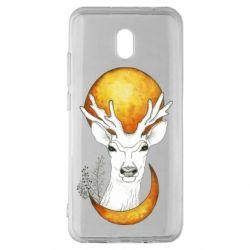 Чехол для Xiaomi Redmi 8A Deer and moon