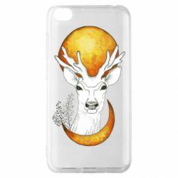 Чехол для Xiaomi Redmi Go Deer and moon