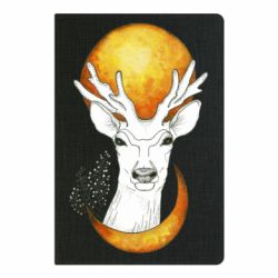 Блокнот А5 Deer and moon