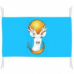 Флаг Deer and moon