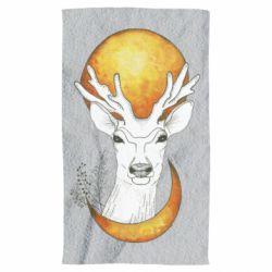 Рушник Deer and moon