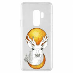 Чехол для Samsung S9+ Deer and moon