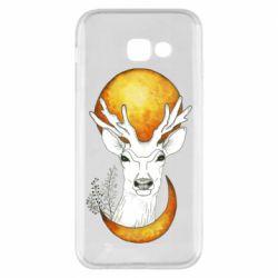 Чехол для Samsung A5 2017 Deer and moon