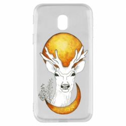 Чехол для Samsung J3 2017 Deer and moon