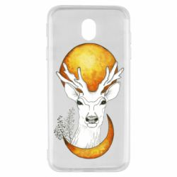 Чохол для Samsung J7 2017 Deer and moon