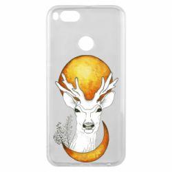 Чехол для Xiaomi Mi A1 Deer and moon