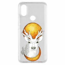 Чехол для Xiaomi Mi A2 Deer and moon