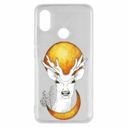 Чехол для Xiaomi Mi8 Deer and moon
