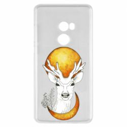 Чехол для Xiaomi Mi Mix 2 Deer and moon