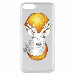 Чехол для Xiaomi Mi Note 3 Deer and moon