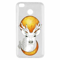 Чехол для Xiaomi Redmi 4x Deer and moon