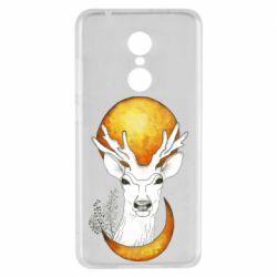 Чехол для Xiaomi Redmi 5 Deer and moon