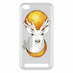 Чехол для Xiaomi Redmi 5A Deer and moon