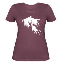 Женская футболка Deer and dementor