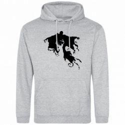 Мужская толстовка Deer and dementor