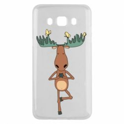Чохол для Samsung J5 2016 Deer and Yoga