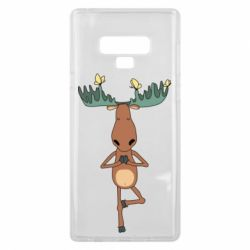 Чохол для Samsung Note 9 Deer and Yoga