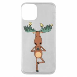 Чохол для iPhone 11 Deer and Yoga