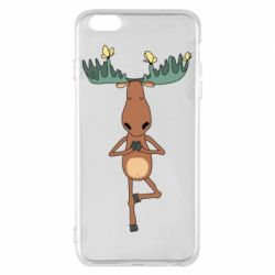 Чохол для iPhone 6 Plus/6S Plus Deer and Yoga