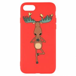 Чохол для iPhone 7 Deer and Yoga