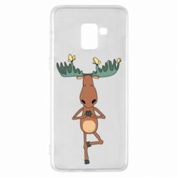 Чохол для Samsung A8+ 2018 Deer and Yoga