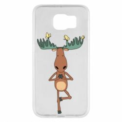 Чохол для Samsung S6 Deer and Yoga