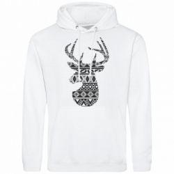 Чоловіча толстовка Deer from the patterns