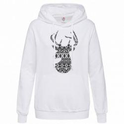 Толстовка жіноча Deer from the patterns