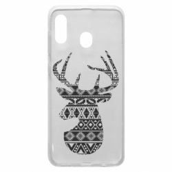 Чохол для Samsung A30 Deer from the patterns