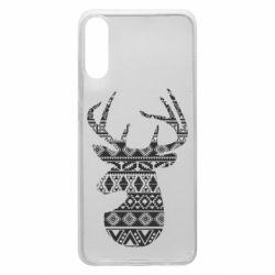 Чохол для Samsung A70 Deer from the patterns