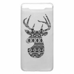 Чохол для Samsung A80 Deer from the patterns