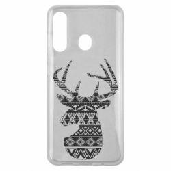 Чохол для Samsung M40 Deer from the patterns