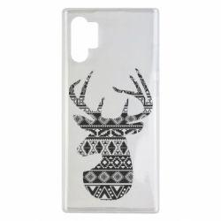 Чохол для Samsung Note 10 Plus Deer from the patterns