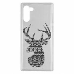 Чохол для Samsung Note 10 Deer from the patterns