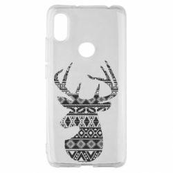 Чохол для Xiaomi Redmi S2 Deer from the patterns
