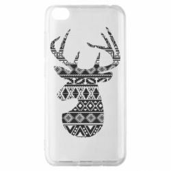Чохол для Xiaomi Redmi Go Deer from the patterns