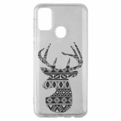 Чохол для Samsung M30s Deer from the patterns