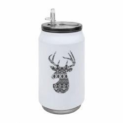 Термобанка 350ml Deer from the patterns