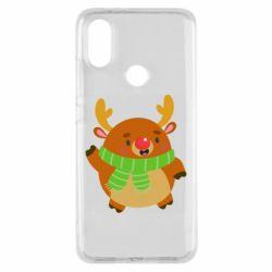 Чехол для Xiaomi Mi A2 Deer in a scarf
