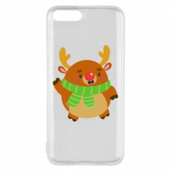 Чехол для Xiaomi Mi6 Deer in a scarf