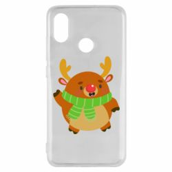 Чехол для Xiaomi Mi8 Deer in a scarf