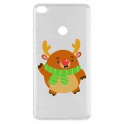 Чехол для Xiaomi Mi Max 2 Deer in a scarf