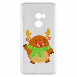 Чехол для Xiaomi Mi Mix 2 Deer in a scarf