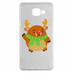 Чехол для Samsung A5 2016 Deer in a scarf