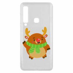 Чехол для Samsung A9 2018 Deer in a scarf