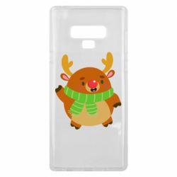 Чехол для Samsung Note 9 Deer in a scarf