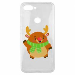 Чехол для Xiaomi Mi8 Lite Deer in a scarf